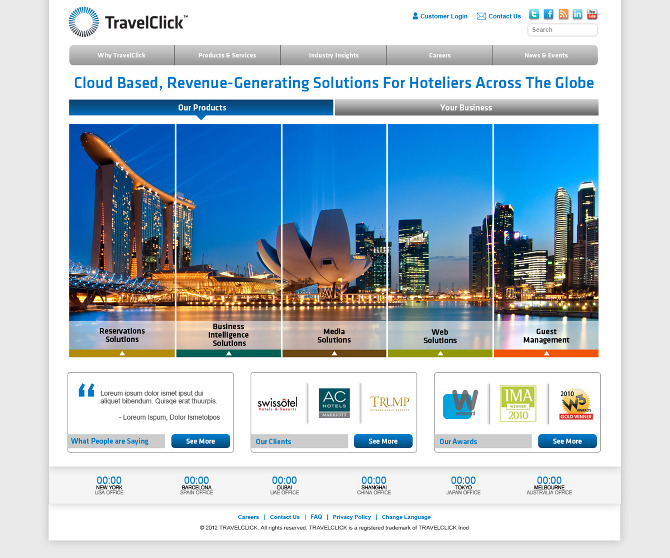 Best Travel Web Pages