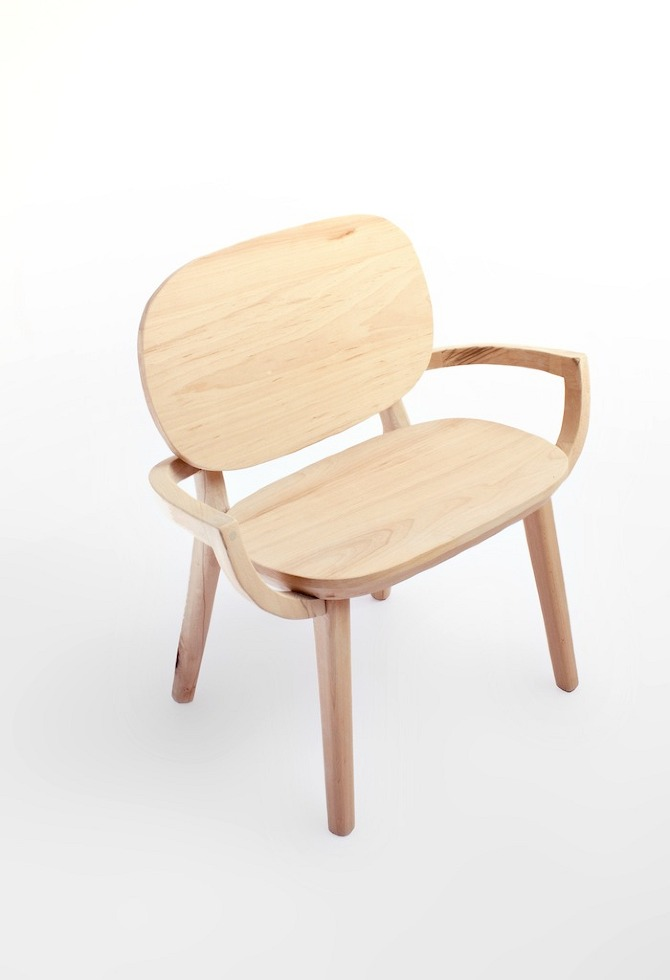 2 panchetta Selected chairs by Antonio Arico in THISISPAPER MAGAZINE