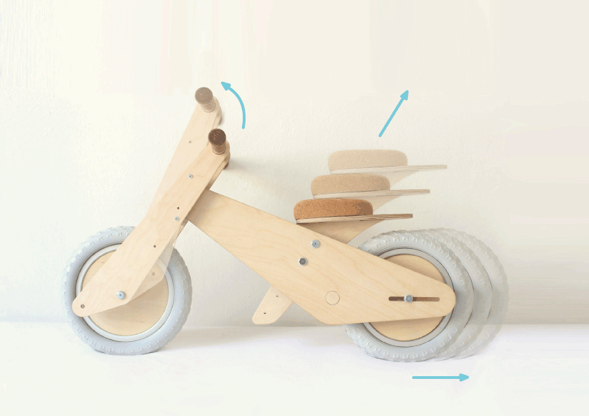 Diy Wooden Balance Bike Plans Diy Projects