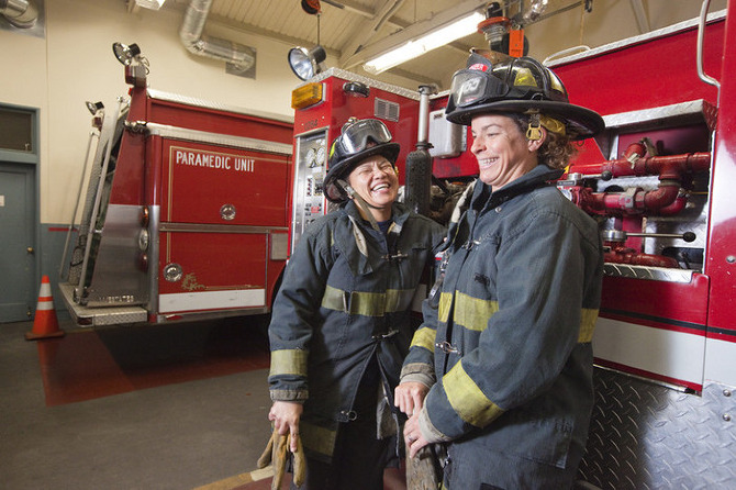 Feature Female Firefighters Lauren Greenfield