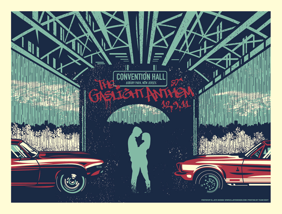 Wtb Gaslight Anthem Posters Horrible Crowes Brian